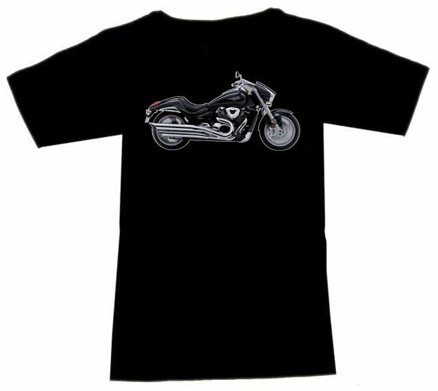 t shirt biker motiv suzuki vzr 1800 intruder schwarz ebay. Black Bedroom Furniture Sets. Home Design Ideas