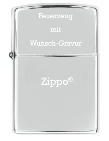 Zippo® mit Wunschgravur