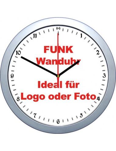 Funk Wanduhr für DEIN Foto...