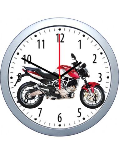 Wanduhr Aprilia Motorradmotiv